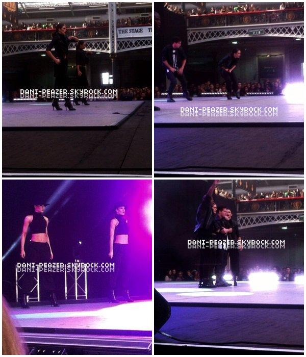 ● Danielle dansant dans l'un des évènements les plus célèbres de Londres, Move It !