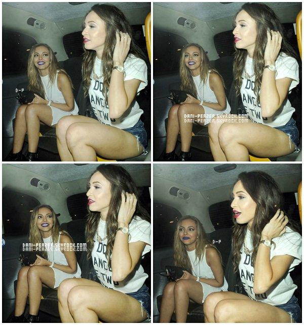 ● Danielle au Wisky Mist en compagnie de Jade Thirlwall, à Londres.