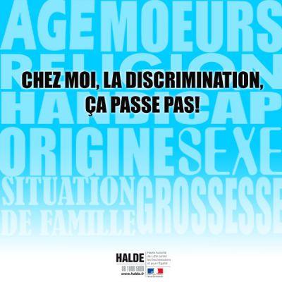 La discrimination çà passe pas !