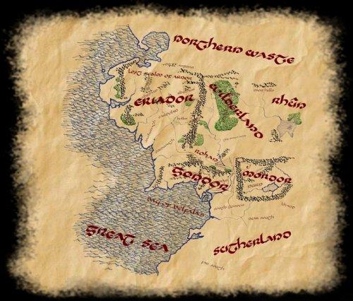 La Carte Interactive De La Terre Du Milieu En Hommage Aux Oeuvres De J R R Tolkien Le