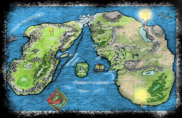 Carte Terre Du Milieu Premier Age.Articles De Aux Portes De Tolkien Tagges Carte En