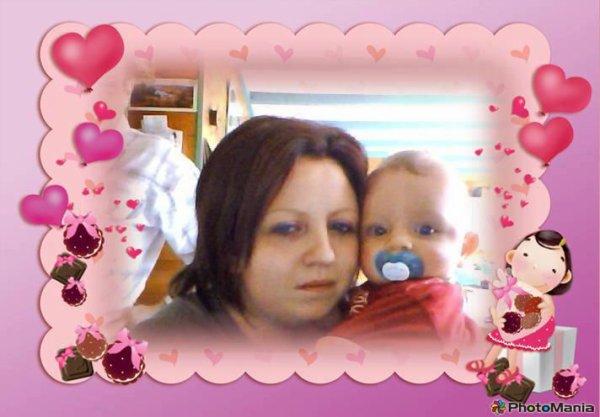 Ma Soeur et mon magnifique Filleul <3