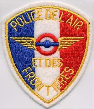 Police de l'Air et des Frontières . (PAF) .