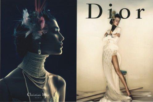 nick knight Dior