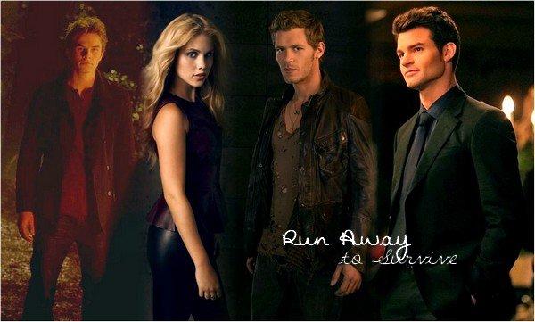 Run away to survive. . Chapter Eight. « Trust me. » . Lorsque la vie n'est qu'une longue fuite.