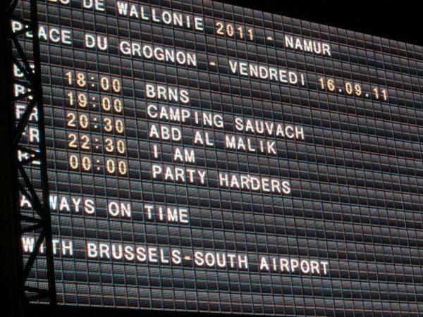 Fête de Wallonie Namur 2011 IAM