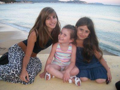 Moi , Doriane Et Amélie Les Couz
