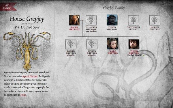 28. Maisons suzeraines : maison Greyjoy