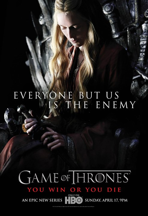 44. CERSEI LANNISTER - Personnage Saison 1 Game of thrones