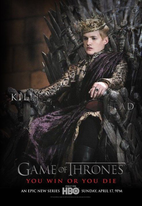 45. Game of thrones - Saison 1 - Personnages : JOFFREY BARATHEON