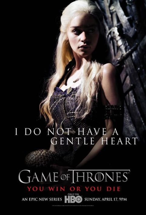 51. DAENERYS TARGARYEN - Personnage Game of thrones - Saison 1