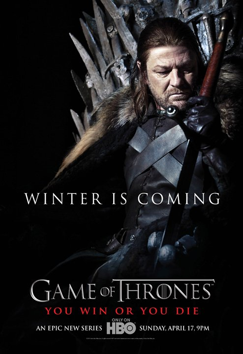 "55. Game of thrones - Saison 1 - Personnages : EDDARD STARK dit ""NED"""