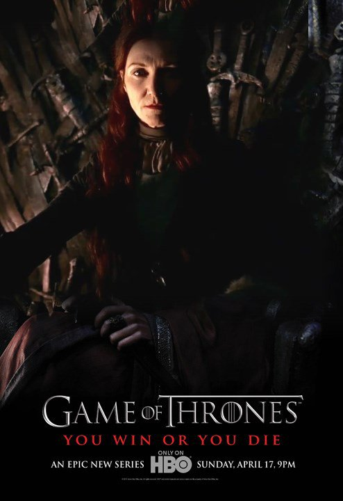 56. CATELYN TULLY - Personnage Game of thrones - Saison 1