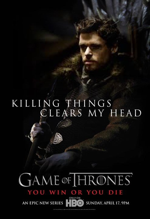57. ROBB STARK - Personnage Game of thrones - Saison 1
