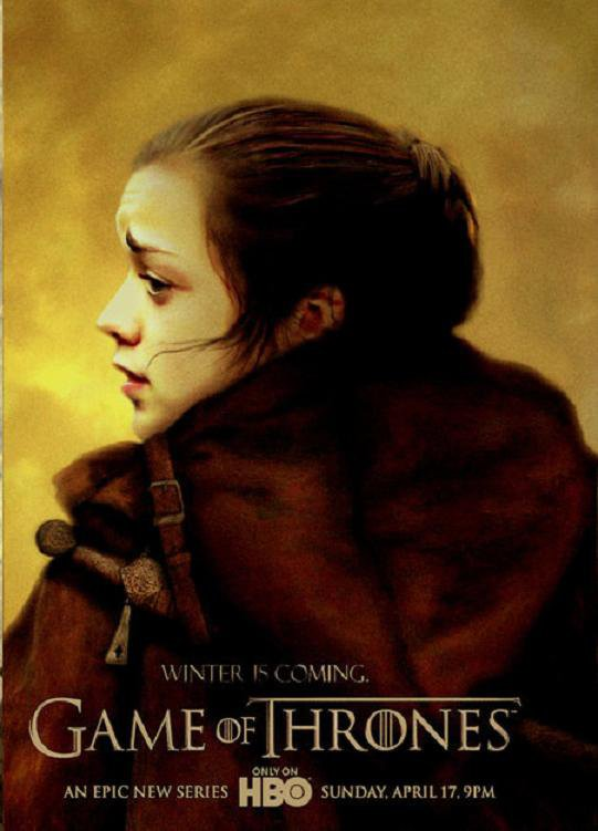 59. ARYA STARK - Personnage Game of thrones - Saison 1
