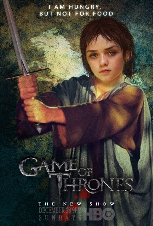 59. Game of thrones - Saison 1 - Personnages : ARYA STARK