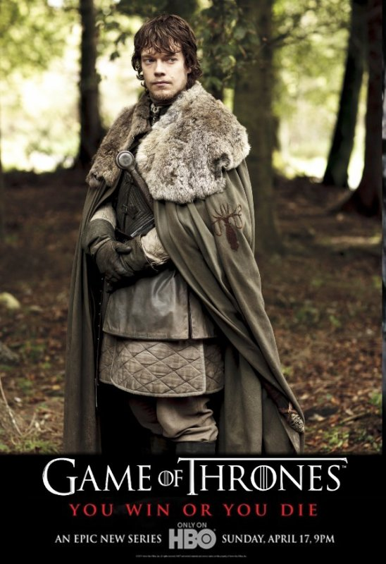 62. THEON GREYJOY - Personnage Game of thrones - Saison 1