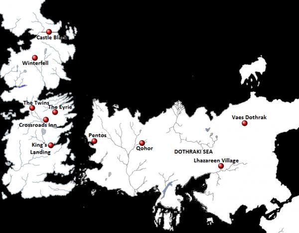 69. Série Game Of Thrones - Saison 1 - Résumé complet