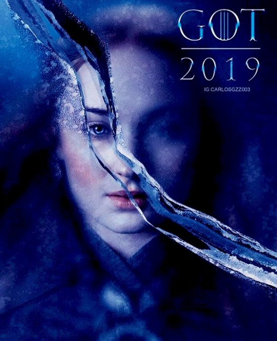 77 Game of thrones SAISON 8 affiches-poster