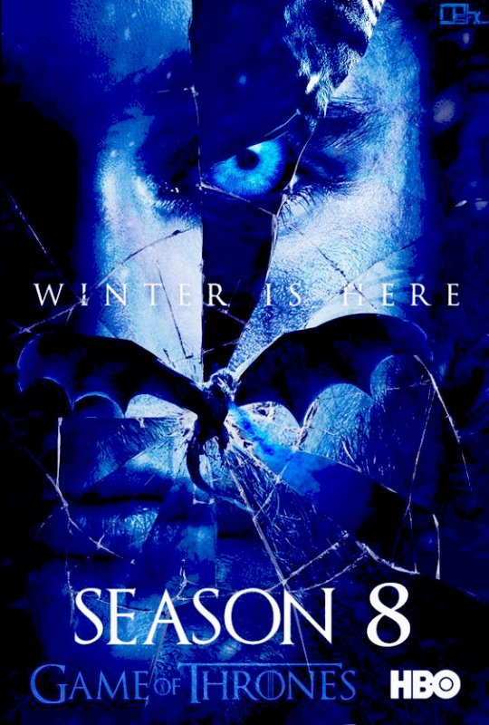 80 Game of thrones SAISON 8 affiches Fan-poster