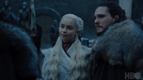 85 - Game of thrones - Saison 8 - Daenerys arrive à Winterfell