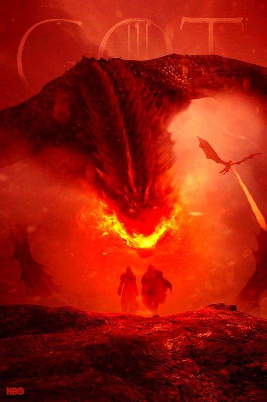 477 - Game of thrones - Daenerys et Jon