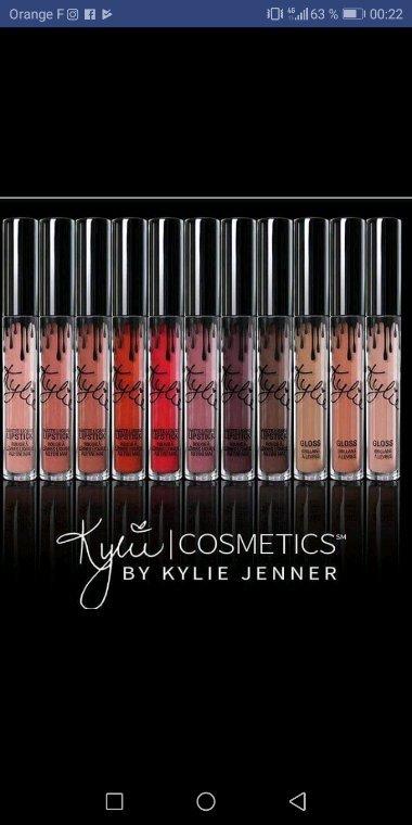 Kylie Jenner à eux de super idée makeup.