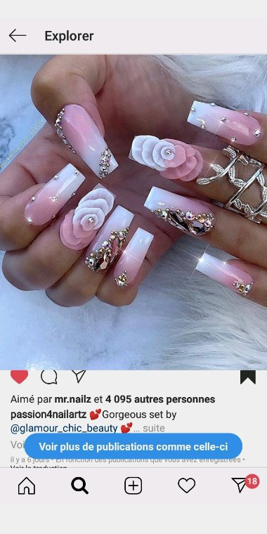"NAILS GLAM. ""BY KISS"""