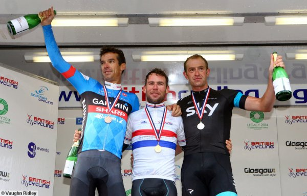 Mark Cavendish champion sur route de Grande-Bretagne !