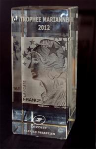 Le trophée Marianne.