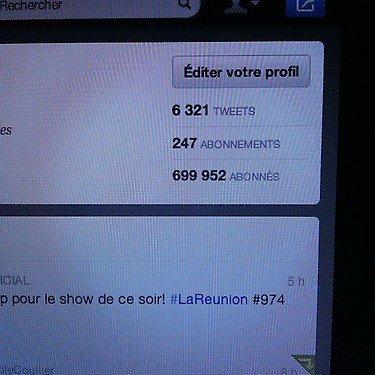L'ile de la Réunion + Tweets + Article !