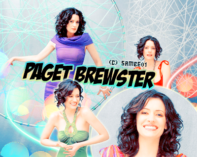 PAGET BREWSTER- Déco - Créa -