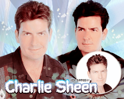 CHARLIE SHEEN- Déco - Créa -