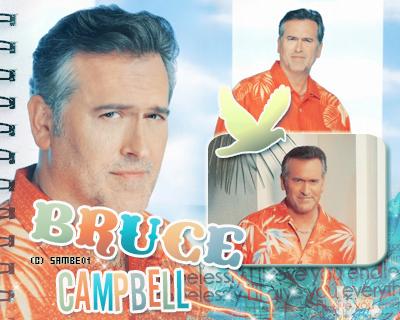 BRUCE CAMPBELL- Déco - Créa -