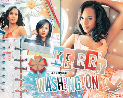 KERRY WASHINGTON- Déco  - Créa -