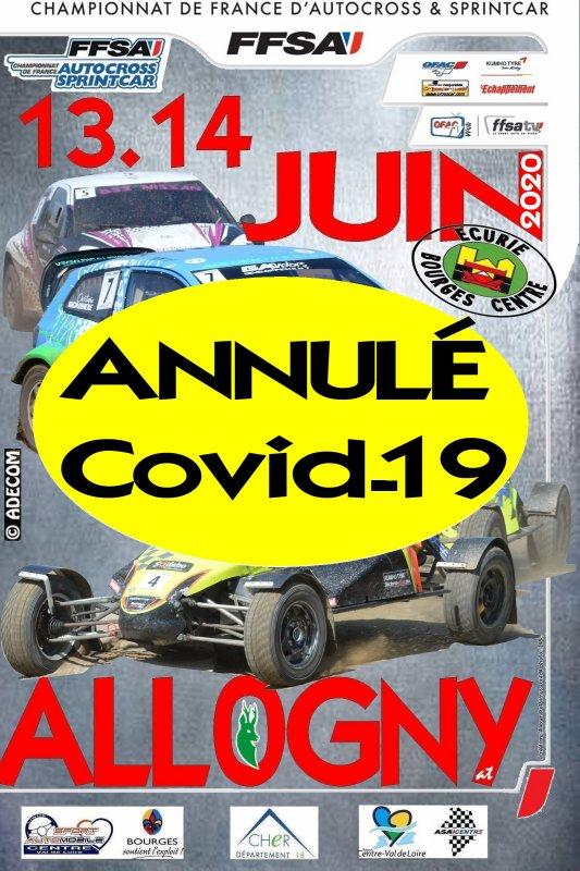 2020: Autocross et Sprintcar d'ALLOGNY