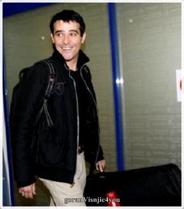 Goran à l'aéroport...