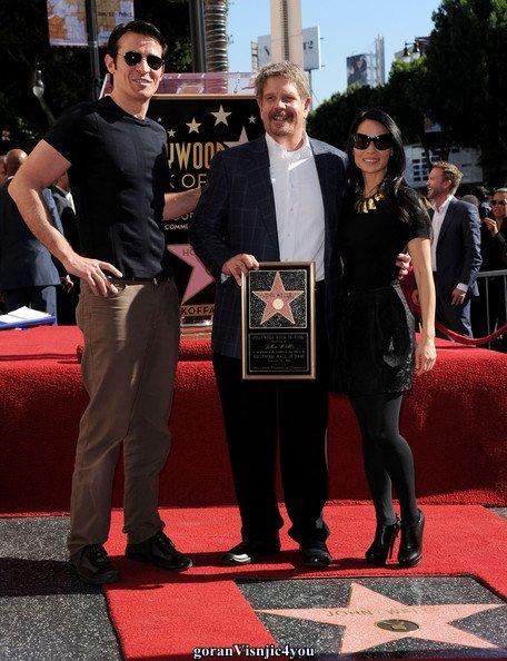 apparition de goran ...Hollywood dec 2012