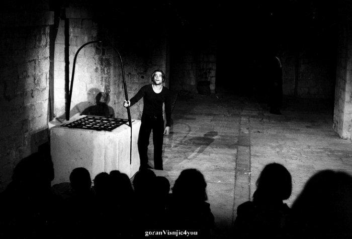 Goran joue Hamlet  au théatre # 2