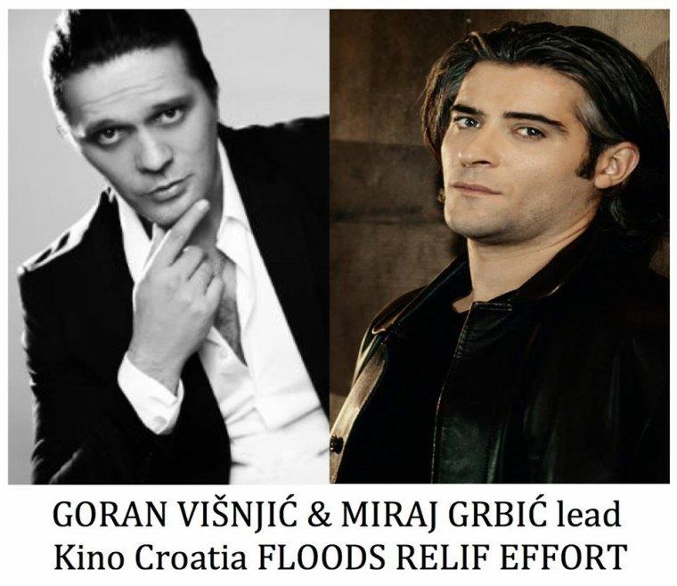aide humanitaire à la Croatie