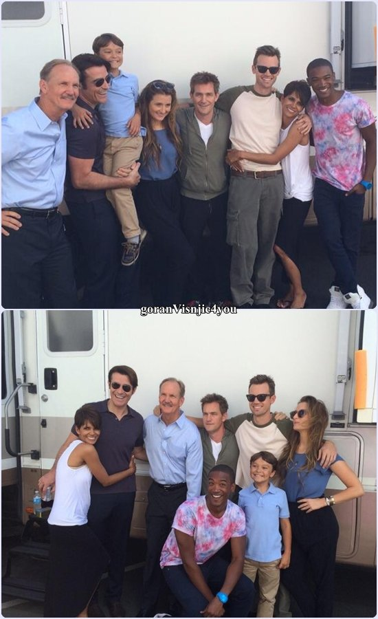 EXTANT les photos du cast