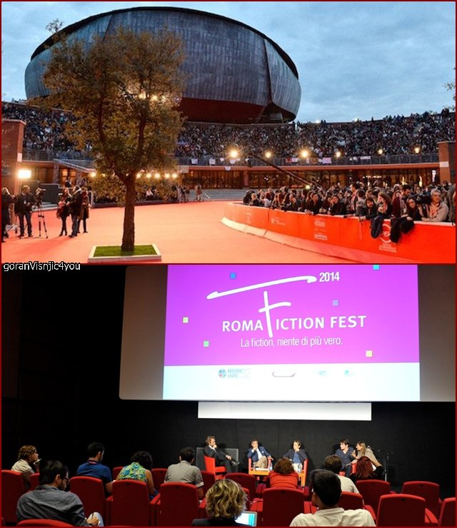 Goran at the Roma fest fiction ,videos