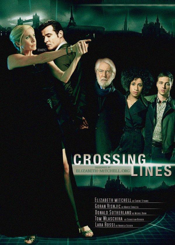 Goran  nouveau rôle...Crossing Lines