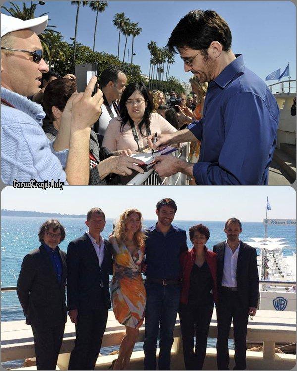 -- Goran à Cannes le 13 avril  Miptv 2015 --