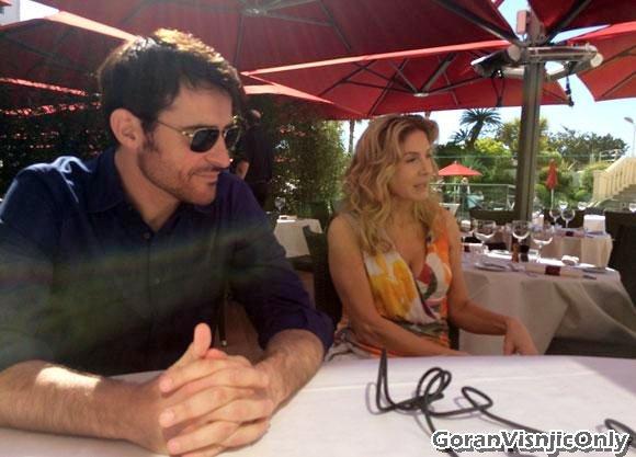 Goran en tournage en Croatie