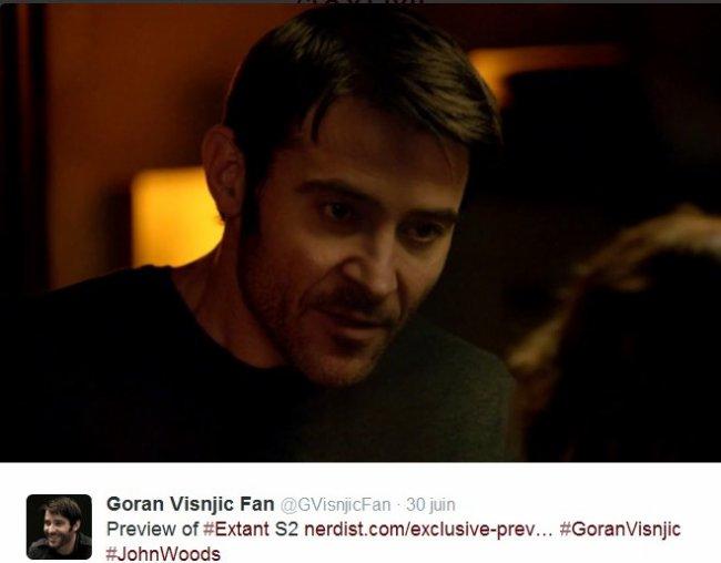 -- Une video Extant saison 2 + tweets --