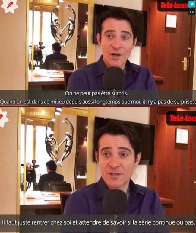-- Interview Crossing Lines par Télé-Loisirs --