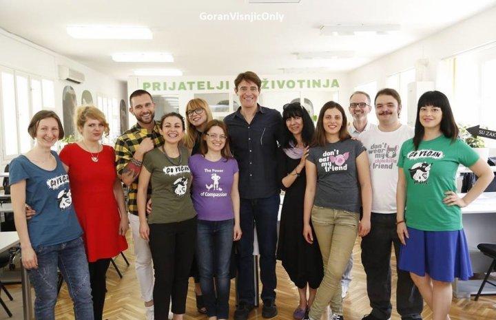 photos en Croatie ,15 juin à Zagreb chez Animal Friends