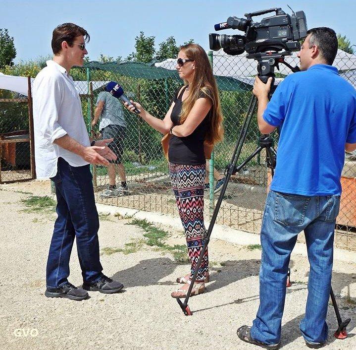 Goran au refuge pour chien à Dubrovnik ,news photos