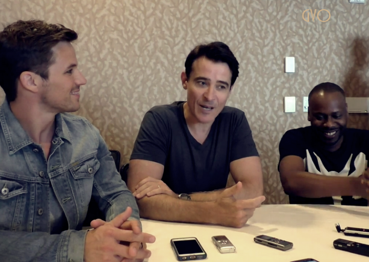 comic con 3 new videos interviews  cast Timeless